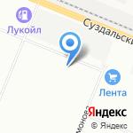 Шуваловский Парк на карте Санкт-Петербурга