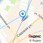 НБ Траст на карте Санкт-Петербурга