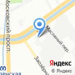 Балтийская Кабельная Компания на карте Санкт-Петербурга