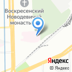 Городская станция переливания крови на карте Санкт-Петербурга