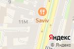 Схема проезда до компании Christian Dior в Санкт-Петербурге