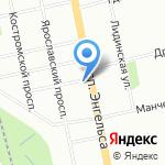 Уют на карте Санкт-Петербурга