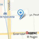 13 квартал на карте Санкт-Петербурга