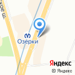 Фантаzия на карте Санкт-Петербурга