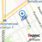 Мариенталь на карте Санкт-Петербурга