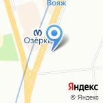 Модница на карте Санкт-Петербурга