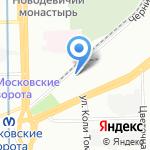Санкт-Петербургская государственная академия ветеринарной медицины на карте Санкт-Петербурга