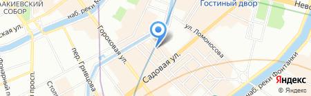 Арланда-Тур на карте Санкт-Петербурга