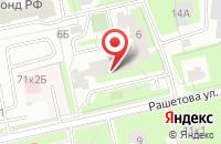 Схема проезда до компании Балтстройиндустрия в Санкт-Петербурге