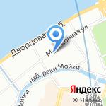 Большой юс на карте Санкт-Петербурга