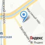 Электро Сервис на карте Санкт-Петербурга