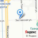 Магазин электроприборов на карте Санкт-Петербурга