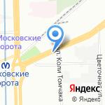 Coffee Magazino на карте Санкт-Петербурга