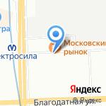 Хмельной Викинг на карте Санкт-Петербурга