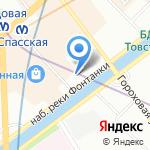 Новый Мир на карте Санкт-Петербурга