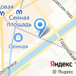 Врачи детям на карте Санкт-Петербурга