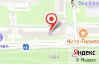 Схема проезда до компании Медиатим в Санкт-Петербурге