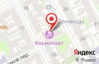 Схема проезда до компании Канон в Санкт-Петербурге