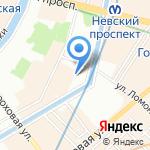 ВВПСтом на карте Санкт-Петербурга