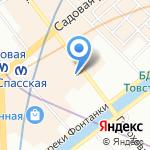 Принцесса На Горошине на карте Санкт-Петербурга