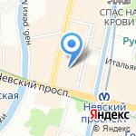 Русско-немецкий центр встреч на карте Санкт-Петербурга