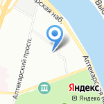 Первичная профсоюзная организация студентов и аспирантов на карте Санкт-Петербурга