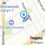 Адвокатская консультация №70 на карте Санкт-Петербурга