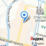 YellowKorner на карте Санкт-Петербурга