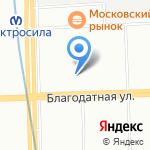 Норд Силинг на карте Санкт-Петербурга