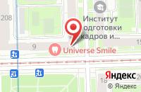 Схема проезда до компании Капель в Санкт-Петербурге