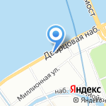 Mossebo на карте Санкт-Петербурга