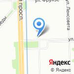 Май на карте Санкт-Петербурга
