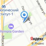 Диадент на карте Санкт-Петербурга