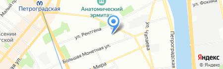 Фридом на карте Санкт-Петербурга