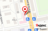Схема проезда до компании Инрост в Ростове-на-Дону