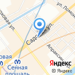 Ezfix.ru на карте Санкт-Петербурга