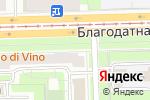 Схема проезда до компании Пташка в Санкт-Петербурге