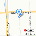 СевЗапАгро на карте Санкт-Петербурга