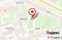 Схема проезда до компании Русмедиа в Санкт-Петербурге