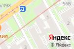 Схема проезда до компании Кровля и фасады в Санкт-Петербурге