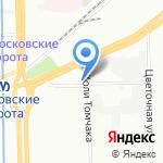 Центр коллективного размещения на карте Санкт-Петербурга