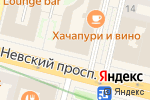 Схема проезда до компании Догма в Санкт-Петербурге