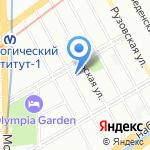 Амориа на карте Санкт-Петербурга