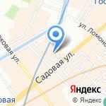 STAF на карте Санкт-Петербурга