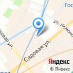Вышивка картин крестом на карте Санкт-Петербурга