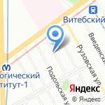ВИВАДЕНТ на карте Санкт-Петербурга