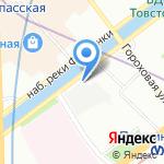 Крисмас+ на карте Санкт-Петербурга