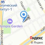 Горжилобмен на карте Санкт-Петербурга
