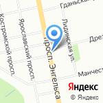 Александрийские Двери на карте Санкт-Петербурга