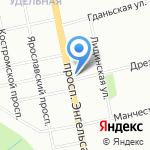 Бутик соблазна и фетиша на карте Санкт-Петербурга